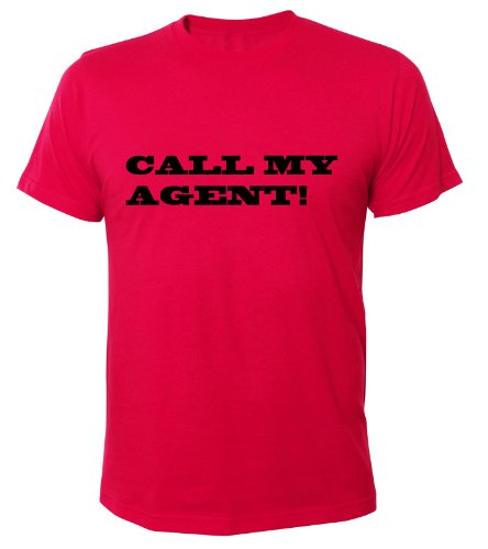 Mister Merchandise Cooles Fun T-Shirt Call My Agent! Pink