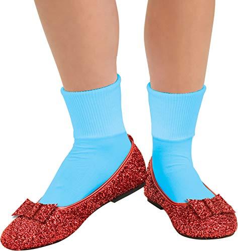 Dorothy Zauberer Von Oz Kostüm Schuhe - Rubie's Offizielle rote Glitzerschuhe für