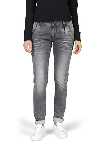 Timezone Damen Regular Romy Jogg Slim Jeans, Grau (Light Grey Wash 2085), W30/L30