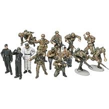 Tamiya 300032514 - Figuras de granaderos Panzer alemanes (15 unidades, escala 1:48, Segunda Guerra Mundial)