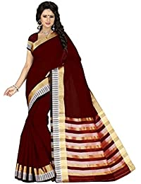 Harsh Sarees Cotton Saree (Gud-1301_Maroon)