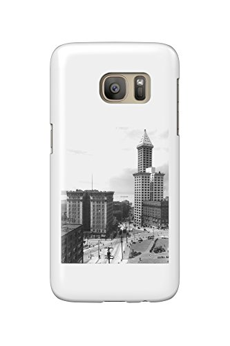 frye-hotel-and-smith-tower-photograph-galaxy-s7-cell-phone-case-slim-barely-there