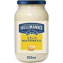 Hellmann's - Gran Mayonesa con Huevos 100% de Corral, 825 ml