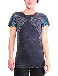 Affliction Scoop Neck - T-shirts - Femmes