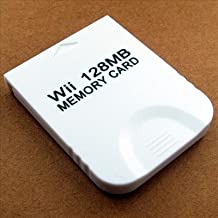 QUMOX Tarjeta de Memoria 128 MB Para Juego JUEGOS Wii Gamecube GC 128M