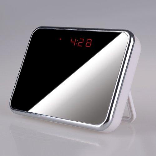 Beste Hd-Spion-Kamera-Uhr Mit Bewegungserkennung, Alarm, Design Spiegel, Spy-Cam, 1280X 960 Pixel @ 30Fps, 5 Mega Pixel, Spy Uhr, Voice & Video Recorder, Bild, Audio