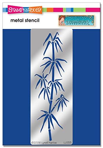 Unbekannt Stampendous DWLL533 Dreamweaver Schablone aus Bambus, lang