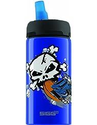 Sigg Hot Wheels Bone - Botella isotérmica (0,4 l), color azul oscuro azul azul oscuro Talla:0,4l