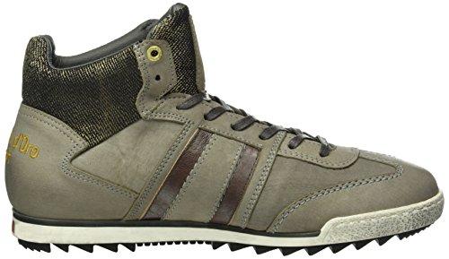 Pantofola d'Oro Imola Jeans Uomo Mid, Sneakers basses homme Grau (.6Xw)