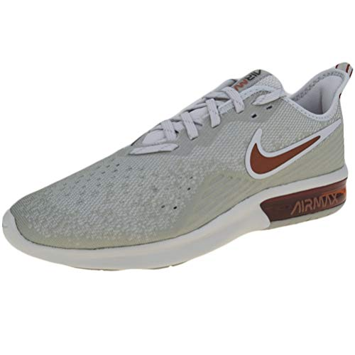 Nike Herren Air Max Sequent 4 Leichtathletikschuhe, Mehrfarbig (Light Bone/Dark Russet/Spruce Fog/Black 007), 41 EU