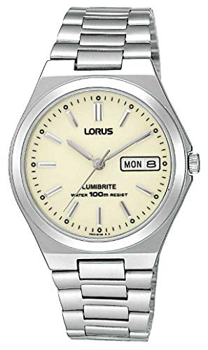Lorus RXN31BX9 Men\'s Analogue Stainless Steel Strap Watch