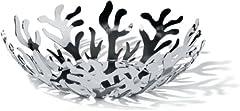 Idea Regalo - Alessi Mediterraneo ESI01/29 Fruttiera di Design in Acciaio Inox