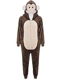 A2Z–4Kids® Niños Niñas Niños Onesie Extra suaves FLUFFY disfraz de mono todo en uno NEW AGE 7891011121314años