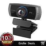 Webcam Full HD 1080P / 1536P Computer Kamera Breitbild Videotelefonie und Aufzeichnung, digitale Webcam mit Mikrofon, Streami
