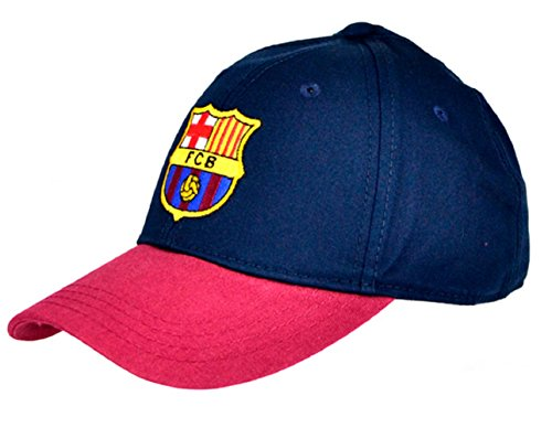 Offizielle Fußball Team Baseball Kappe (Verschiedene Mannschaften zur Auswahl.) alle mit Offiziellen Club Shop Tags, Barcelona (Burgundy), One Size Fits All (Adult) -