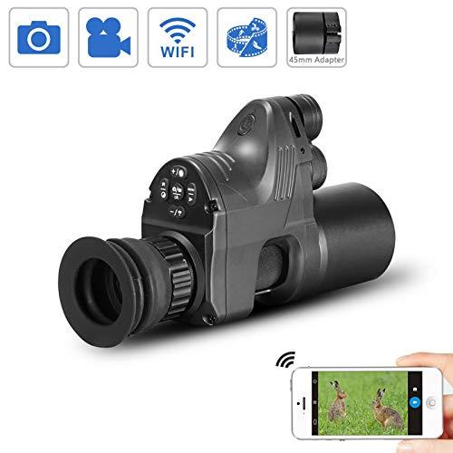 WILDGAMEPLUS PARD NV007 656ft IR Reichweite 1080P HD-Kamera Digital Wasserdicht Anti-Nebel WiFi 4x~14x Zoom Jagd Nachtsichtgerät Andiord/iOS APP (Wasserdichte Video-kamera Zu Sehen)