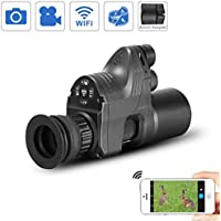 WILDGAMEPLUS PARD NV007 656ft IR Reichweite 1080P HD-Kamera Digital Wasserdicht Anti-Nebel WiFi 4x~14x Zoom Jagd Nachtsichtgerät Andiord/iOS APP