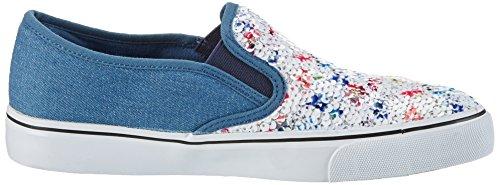 Fiorucci Fepb008, Sneaker Donna Blu (Denim)