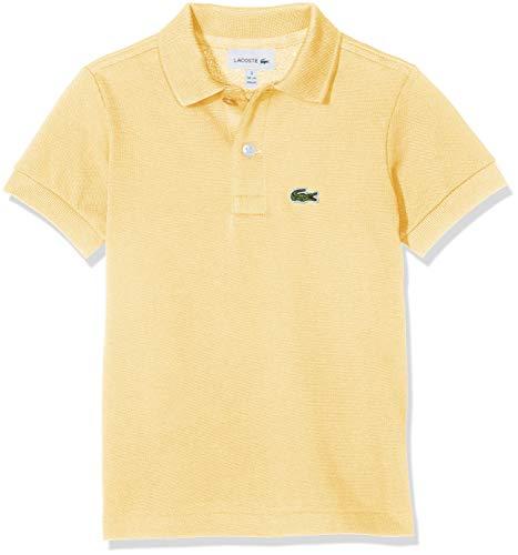 Lacoste Jungen Pj2909 Poloshirt, Elfenbein (Napolitain 6xp), 16 Jahre (Herstellergröße: 16A)
