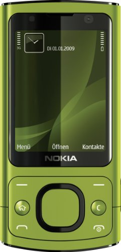 Nokia 6700 slide Handy (UMTS, GPRS, Bluetooth, Kamera mit 5 MP, Musik-Player) lime