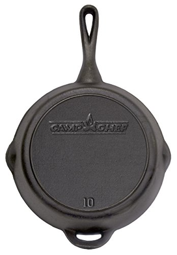 The Camp Chef SK-10 Gusseisen-Pfanne, 25,4 cm Durchmesser -