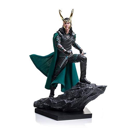 Ldwxxx Avengers Raytheon Charakter Modell Loki 1/10 Kampf Szene Statue Spielzeug Souvenir Geschenk Sammlung Handwerk Platzierung Weihnachten Urlaub Geschenk 25 cm