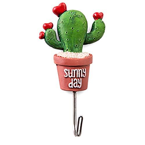 Cactus Appendiabiti.Justdolife Gancio Della Parete Domestica Acciaio Inossidabile