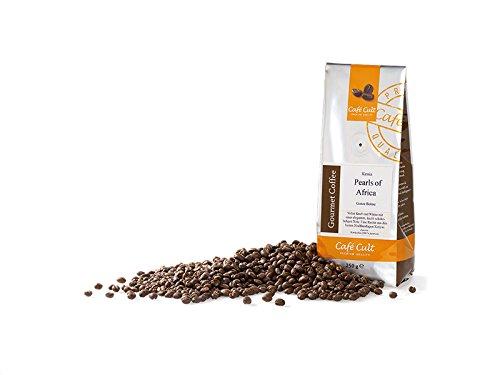 Café de Kenia Caracolillo 'Pearls of Africa' grano tostado en bolsa 1 kg