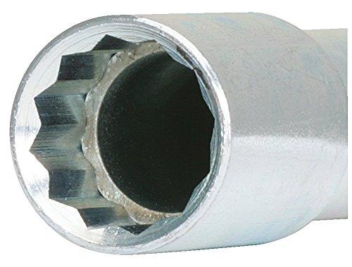 KS Tools 116.2096 Standarmaturenschlüssel-Lang, 13 mm, L-155 mm