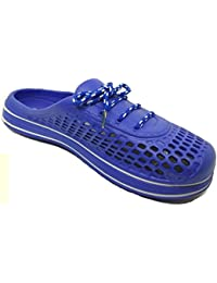 HALO NATION Mens Clogs , Comfortable Flipflop For Men (Blue)