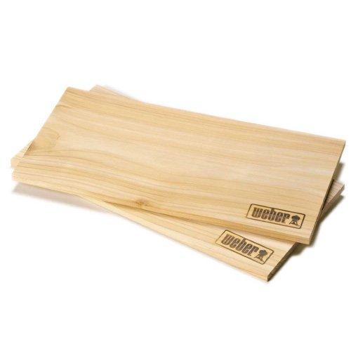 Weber Räucherbretter, groß, Zedernholz