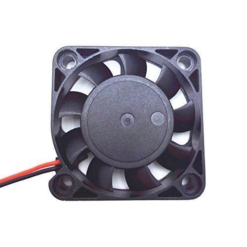 Solanton 5V 0,14a 40x 40x 10mm Klein Micro Lüfter 4cm 4010Brushless DC USB Computer Fall Laptop Kühler Fan 40mm x 10mm (Kleinen Computer-lüfter)