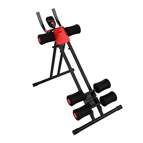 Tengyun Abdominal- Trainer, Faltbares Abdominal- Fitnessgerät-Heim-Fitness-Studio-Training - Mit Intelligenter Geführter Anzeige (Color : B) (Twister Fitness-studio)