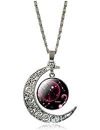Inception Pro Infinite (Escorpio) Collar con Signo del Zodiaco Y Constelación
