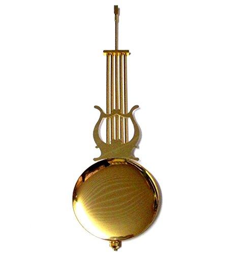 New Traditionelle Uhr Pendel Rod & Bob (300mm Nachahmung Gold Rod & 88mm Bob) (Gold-pendel-uhr)