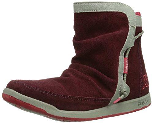 Kappa Jam Footwear, Leather, Baskets mode femme Multicolore (2529 Darkred/Coral)
