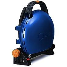 Butsir O- Grill 500 Barbacoa portátil Iroda, Azul, 60x53x27 cm