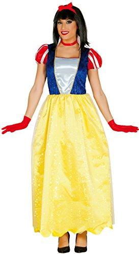 Langes Schneewittchen Kleid Karneval Fasching Party Kostüm für -