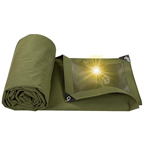 Waterproof Cloth Home bâche imperméable de Tente extérieure avec la Nuance perforée de Toile de bâche perforée (Color : Thickening, Size : 4×8m)