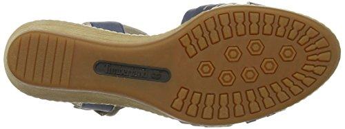 Timberland - Wollaston Ftw_ek Wollaston Woven Leather, Con cinturino alla caviglia Donna Blu (Blu)