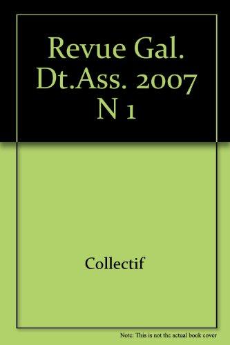 Revue Generale de Droit des Assurances N 1 - 2007 par Collectif