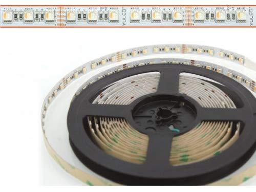 LED Flex Stripe 5m RGBW-XC 84x 4-in1 LEDs/m RGB+kaltweiss 24V
