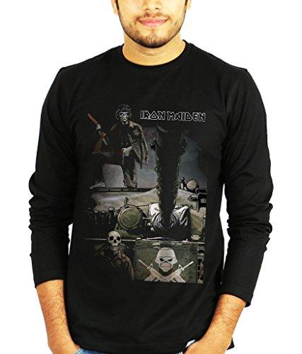 Iron Maiden Full Sleeves Tshirt - Band Tshirts by The Banyan Tee ™