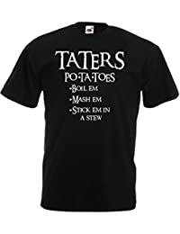 Print Wear Clothing Taters, Mens Printed T-Shirt