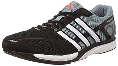 Adidas Men's Adizero Takumi Ren 3 Yellow, Grey and Purple Sport Running Shoes - 6 UK