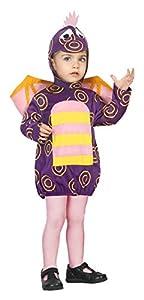 Atosa-30554 Disfraz Dragón, Color Violeta, 0 a 6 Meses (30554)