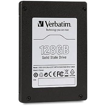Verbatim 128GB internes Solid State Drive (6,4 cm (2,5 Zoll), SATA II) schwarz