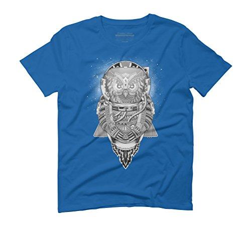 Interstellar Overdrive Men s 3X-Large Royal Blue Graphic T-Shirt - Design  By Humans 862f5f342b4