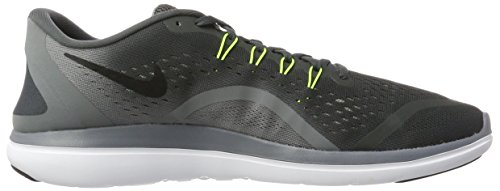 Nike Mens Free Rn Sense Running Shoe, Scarpe Sportive Indoor Uomo Multicolore (Anthracite/volt-cool Grey-black)