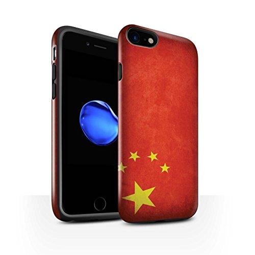 Coque Brillant Robuste Antichoc de STUFF4 / Coque pour Apple iPhone 6 / Russie Design / Drapeau Collection Chine/chinois
